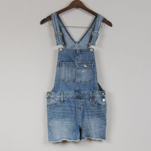 Cutoff Overalls Light Wash Size XS Waist 28